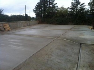 Concrete Finishes Yard