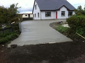 Concrete Finishes Driveway