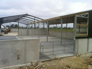Concrete Finishes Farm Yard