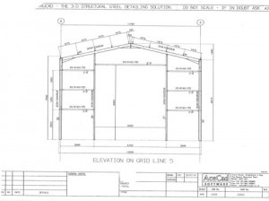 Flat-Pack Shed Drawing