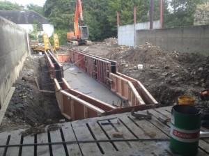 Milking Parlour Pit Construction