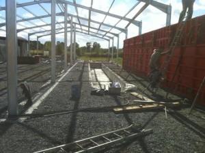 Milking Parlour Construction