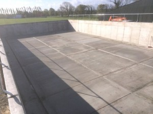 slatted tank concrete finish